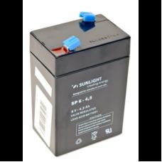 Аккумулятор Sunlight SP 6-4.5 6В 4,5 АЧ