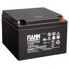 Гелевый аккумулятор Fiamm FG 22703