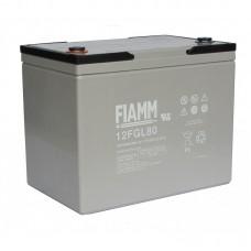 Гелевый аккумулятор Fiamm 12FGL80
