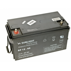 Аккумулятор Sunlight SP 12-65 12В 65 АЧ