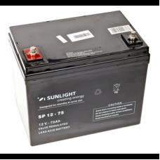 Аккумулятор Sunlight SP 12-75 12В 75 АЧ